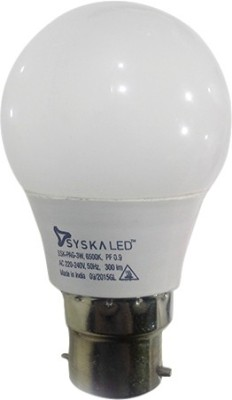 Syska-3W-LED-Bulb-(White)