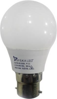 Syska 3W LED Bulb (White) Image