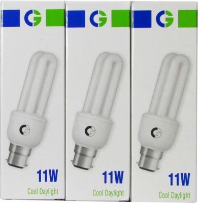 Greaves-11-W-2U-CFL-Bulb-(Cool-Daylight,-Pack-of-2)