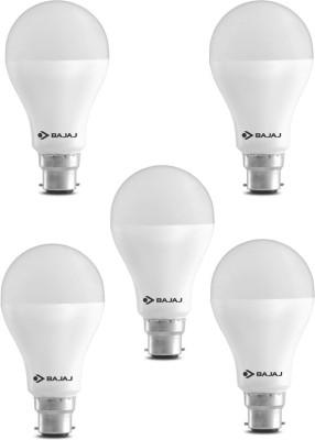 Bajaj 15 W Standard B22 LED Bulb(White, Pack of 5) at flipkart