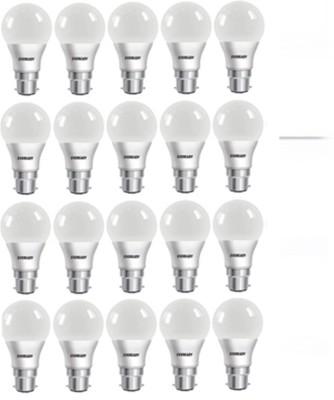 Eveready 9 W Globe B22 LED Bulb(White, Pack of 20) at flipkart