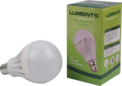 Luments-12W-460-Lumens-White-Eco-LED-Bulbs-(Pack-Of-12)