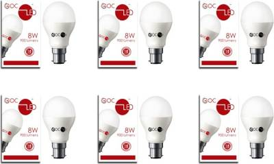 8W-Crystal-White-LED-Bulb-(Pack-of-4)