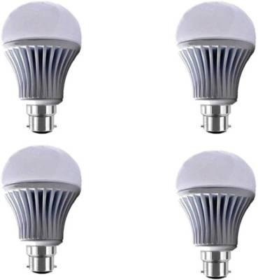 Yellowstar-12W-B22-LED-Bulb-(White,-Pack-Of-4)