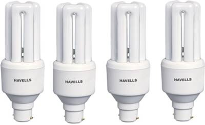 Havells 20 W 440 Lumens CFL Bulb (White, Pack of 4) Image