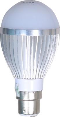 Silicontek-5W-Aluminium-Body-Warm-White-LED-Bulb