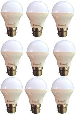 3W-B22-LED-Bulb-(White)-[Pack-of-9]