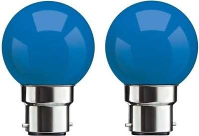 0.5-W-B22-LED-Bulb-(Blue,-Pack-of-2)