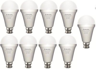 Saara-5W-White-Eco-Led-Bulbs-(Pack-Of-9)