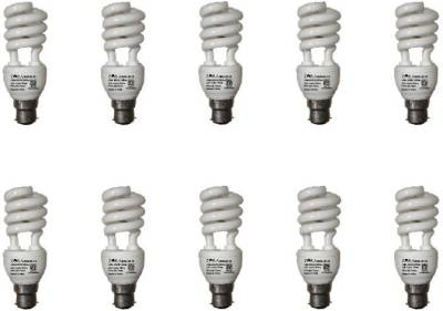 Zora 15 W Spiral CFL Bulb (White, Pack of 10) Image