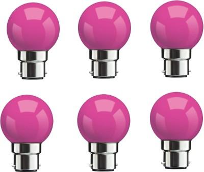 Syska-0.5W-Pink-LED-Bulbs-(Pack-Of-6)