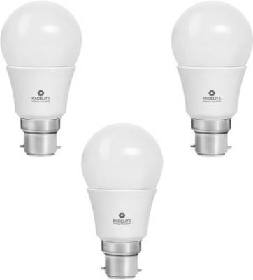 excelite-5W-White-400-Lumens-LED-Dazzel-Bulb-(Pack-Of-3)