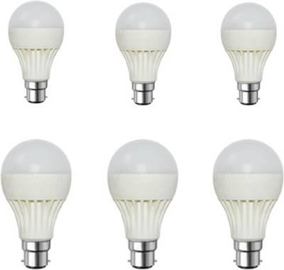 5W-White-LED-Bulb-(Pack-of-6)