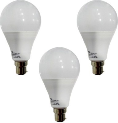 12-W-B22-PAG-LED-Bulb-(White,-Pack-of-3)