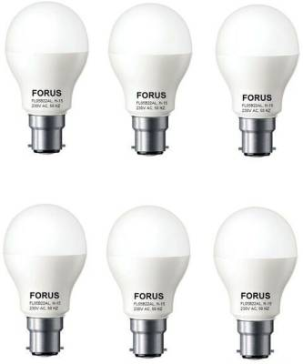 5-W-FL05B22AL-LED-Bulb-B22-Cool-White-(pack-of-6)