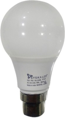 Syska-B22-5W-LED-Bulb-(White)