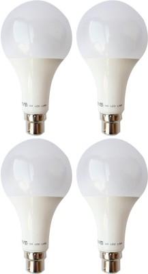 Vivid-9-W-B22-LED-Bulb-(White,-Pack-of-4)