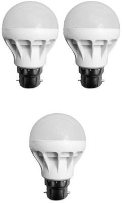 Supex-3W-White-LED-Bulb-(Pack-of-3)