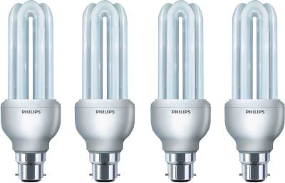 Philips Essential 8 Watt CFL Bulb (Cool Day Light,Pack of 4) Image