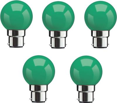 0.5W-Green-LED-Bulbs-(Pack-Of-5)-