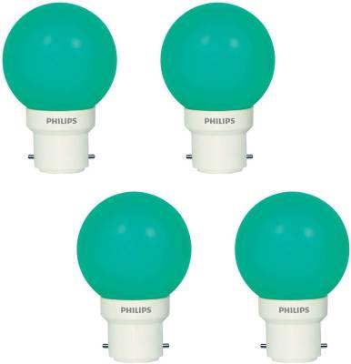 Deco-Mini-0.5W-LED-Bulbs-(Green,-Pack-of-4)
