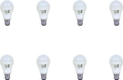 Donex-9W-Aluminium-Body-White-LED-Bulb-(Pack-of-8)