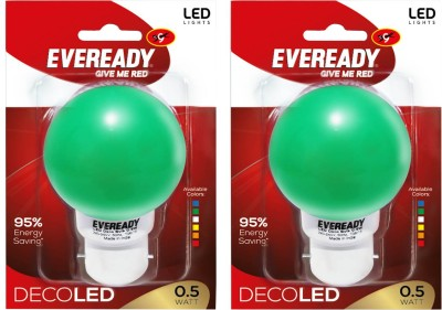 0.5W-Green-Deco-LED-Bulb-(Pack-of-2)-