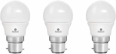 excelite-3W-White-300-Lumens-LED-Dazzel-Bulb-(Pack-Of-3)