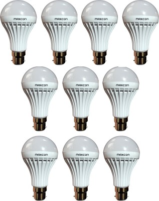 Maxcon-7W-LED-Bulbs-(Cool-White,-Pack-of-10)