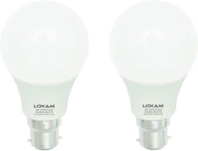 Loxam 9W B22 LED Bulbs (Cool White, Pack of 2) Image
