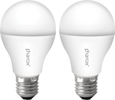 Pharox-9W-B22-Led-Bulb-(Apollo-Cool-White,-Set-Of-2)