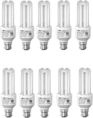 Zora 23 W CFL Bulb (White, Pack of 10) Image