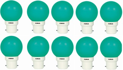FORUS-0.5-W-FLZG22PL-LED-Bulb-B22-Green-(pack-of-10)