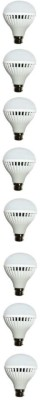 Pure-N-Safe-7W-White-LED-Bulbs-(Pack-Of-8)