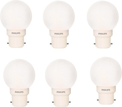 Philips-0.5-W-Deco-B22-IND-LED-Bulb-(White,-Pack-of-6)