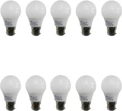 Syska 3W LED Bulbs (White, Pack of 10) Image