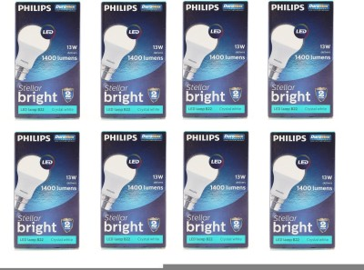 Philips-13-W-Stellar-Bright-LED-Bulb-White-(pack-of-8)