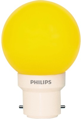 Philips-0.5-W-LED-Deco-B22-IND-Bulb-Yellow-(pack-of-6)