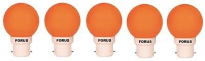 FORUS-0.5-W-FLZO22PL-LED-Bulb-B22-Orange-(pack-of-5)