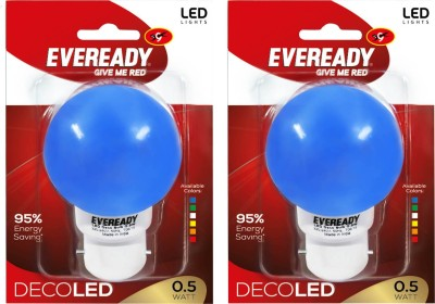 Eveready-0.5-W-Deco-UP-LED-Bulb-(Blue,-Pack-of-2)