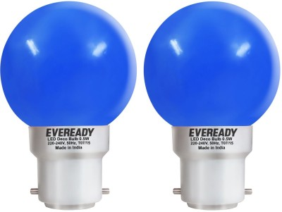 0.5-W-Deco-UP-LED-Bulb-(Blue,-Pack-of-2)-