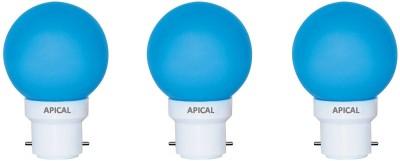 0.5W-B22-LED-Bulb-(Blue,-Set-of-3)