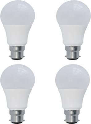 3-W-B22-LED-Bulb-(Warm-White,-Plastic,-Pack-of-4)