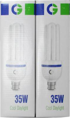 Crompton Greaves 35 W CFL Bulb (Cool Daylight, Pack of 2) Image