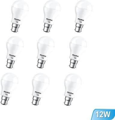 12W-B22-White-Led-Bulb-(Set-Of-9)