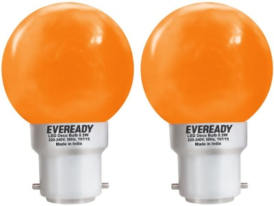 0.5W-Deco-UP-LED-Bulb-(Orange,-Pack-of-2)-