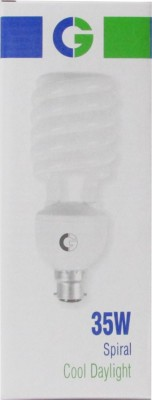 Greaves-35-W-Spiral-CFL-Bulb-(Cool-Daylight,-Pack-of-2)