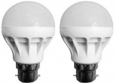 JSS-Exports-7W-B22-LED-Bulb-(White,-Set-of-2)