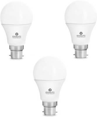 excelite-7W-B22D-560L-Dazzel-LED-Bulb-(White,-Pack-Of-3)