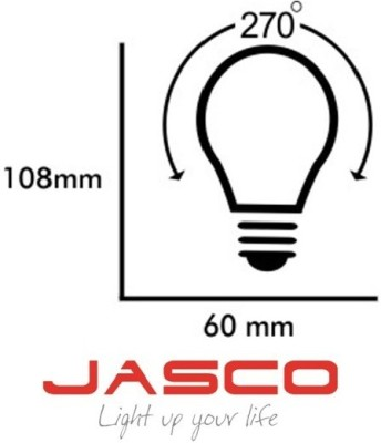 Jasco-7W-B22-LED-Bulb-(White,-Pack-of-2)